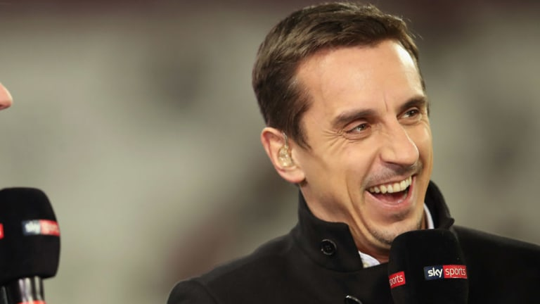 Gary Neville Engages Guillem Balague in Twitter Row Over Alexis Sanchez's Link to Man Utd