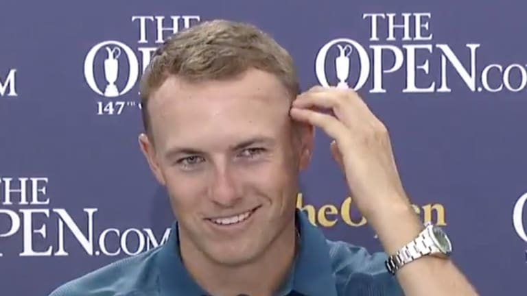 Jordan Spieth Got a Haircut in Scotland, Says Barber 'Went a Little High and Tight'