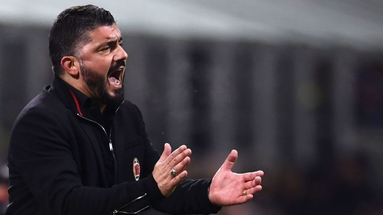 Milan Boss Gattuso Says His Team Are 'Good at Suffering Against Good Sides' Despite 2-0 Win at Roma