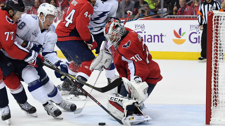 Stanley Cup Playoffs: Holtby, Capitals Shut Out Lightning to Force Game 7