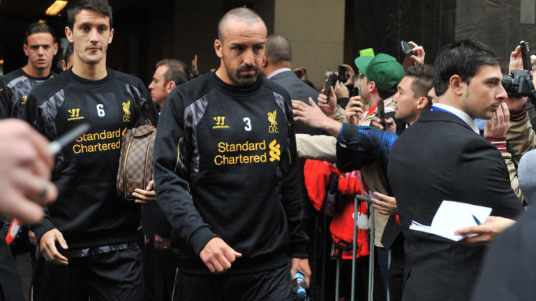 Former Liverpool Defender Jose Enrique Recovering After Surgery to Remove Rare Brain Tumour
