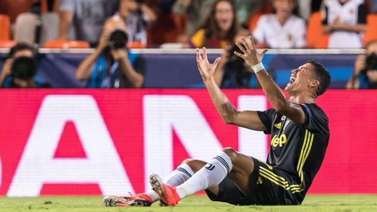 ÚLTIMA HORA   Ya se conoce la sanción de Cristiano Ronaldo tras su expulsión contra el Valencia