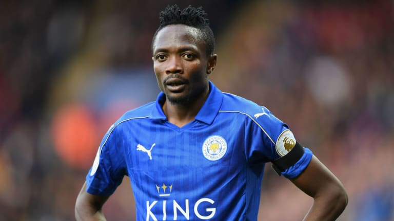 West Brom Plotting January Loan Swoop for Leicester City Outcast Ahmed Musa