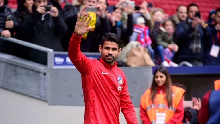 Spaniard Diego Costa Admits to Never Learning English Following Unveiling to Atletico Madrid Fans