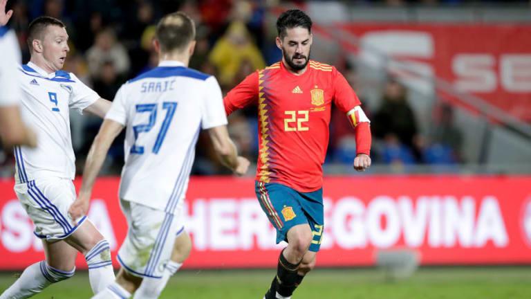El futbolista que espió el Real Madrid en el España-Bosnia