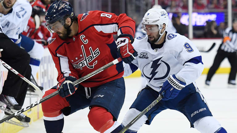Even After a Loss, Alex Ovechkin and the Capitals Remain Calm
