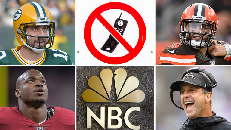 Packers Are a Mortal Lock to Win Super Bowl, Cell Phone Celebration Was/Is Lame, Browns Have Been 2018's Luckiest Team
