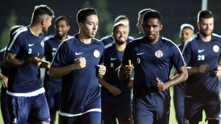 Everton Dismiss Samir Nasri Rumours With Toffees Holding 'Absolutely No Interest' in Midfielder