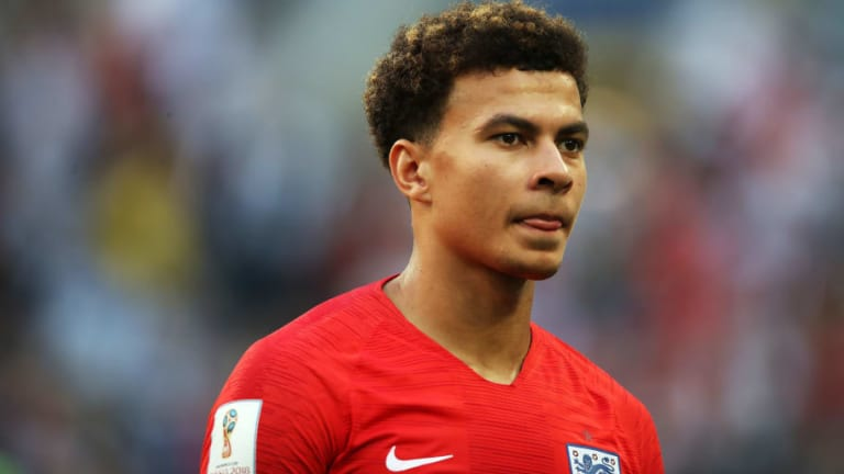 Spurs & England Star Reveals How He Picked Up New Lucky Charm on World Cup Duty in Russia