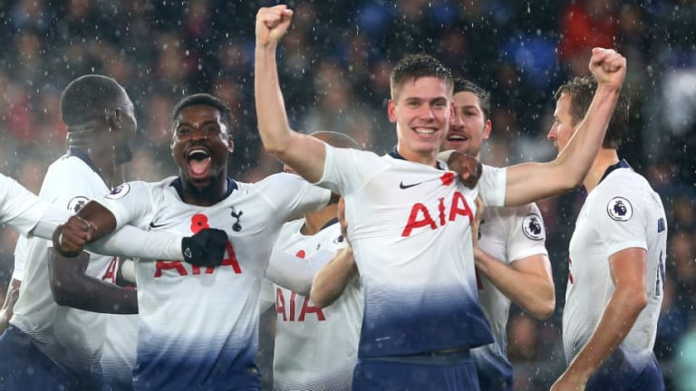 Garth Crooks Praises 'Brilliant' Juan Foyth for His Display in Tottenham's Win at Crystal Palace