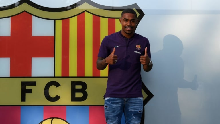 Malcom Discusses 'Dream' Move to Barcelona as Details of Last Minute Roma Rejection Emerge