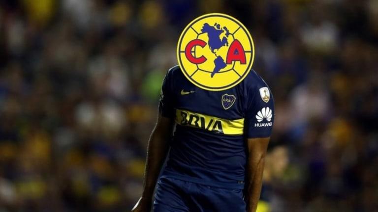 FICHAJES   América va por un goleador de Boca Juniors
