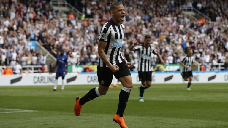 Newcastle Reject West Brom's Year-Long Loan Deal for Striker Dwight Gayle
