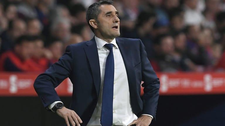 Ernesto Valverde Admits Relief After Barcelona Claim 25th La Liga Title With Win Over Depor
