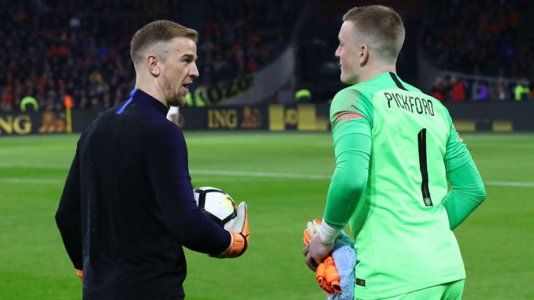 Gareth Southgate to Give Joe Hart Back-Up Role in Russia as Jordan Pickford Set to Become 1st Choice
