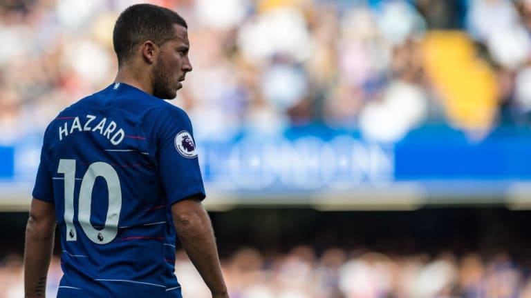 Maurizio Sarri Reveals Eden Hazard Is 'Tired' as Belgian Is Left Out of Blues' Europa League Opener