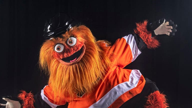 Flyers Unveil New Mascot, a Ginger Blob Named Gritty