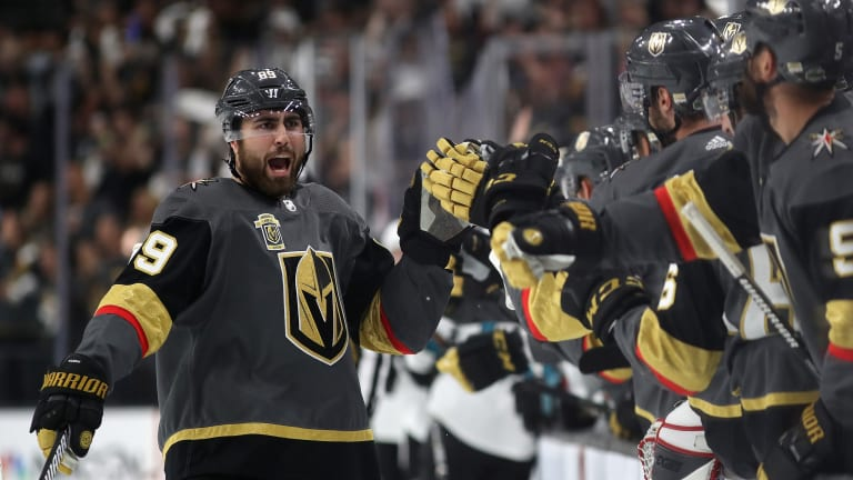 Stanley Cup Playoffs Roundup: Golden Knights, Fleury Post 7-0 Beatdown Against Sharks in Game 1