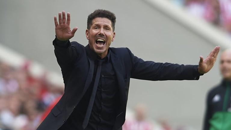 El peor registro de Simeone en un inicio liguero desde que es entrenador del Atlético