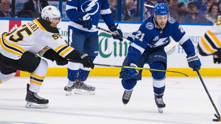 Stanley Cup Playoffs Roundup: Lightning Rebound to Even Series; Karlsson Lifts Golden Knights in OT