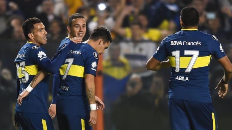 SIN TÉVEZ |  El posible equipo de Boca para enfrentar a Alvarado por Copa Argentina