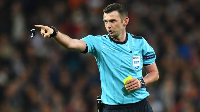Michael Oliver Speaks Out Over Abuse Following Controversial Real Madrid Penalty Award