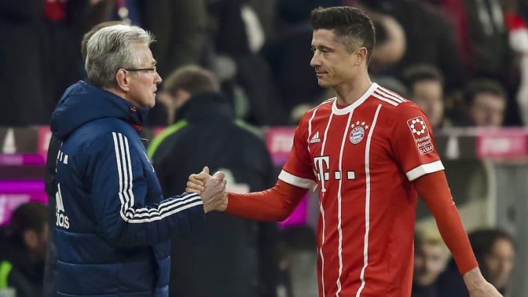 Jupp Heynckes Jokes About Substituting Lewandowski Before He Can Equal Boss' Goal Record