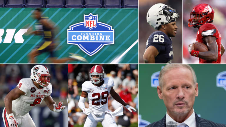 NFL Combine Crash Course: Mike Mayock on the Best Prospects, Top QBs In Indy