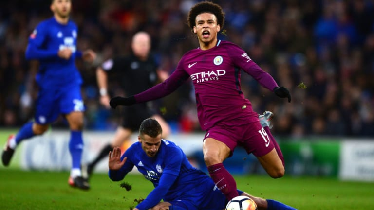 Report Claims Man City Star Leroy Sane Will Be Out for 3 Months After Confirmed Ligament Damage