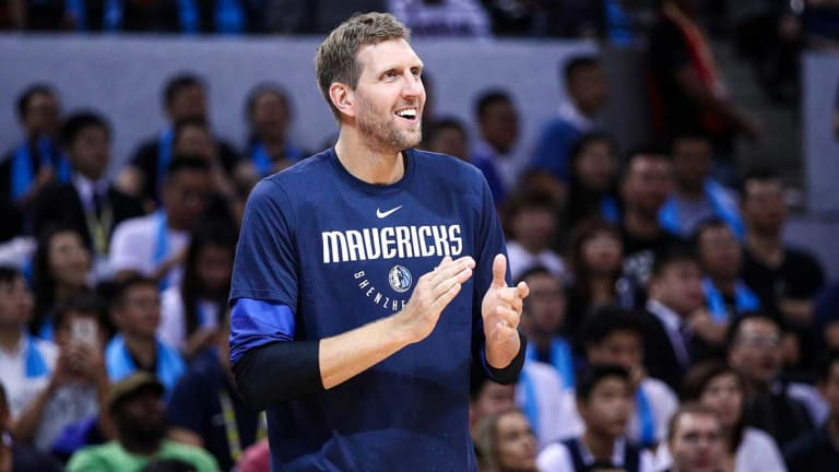 How 40-Year-Old Dirk Nowitzki Is Giving the Mavericks Life From the Sideline