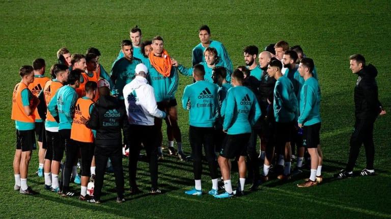 La nueva charla de Zidane a sus jugadores tras la derrota en casa frente al Villarreal