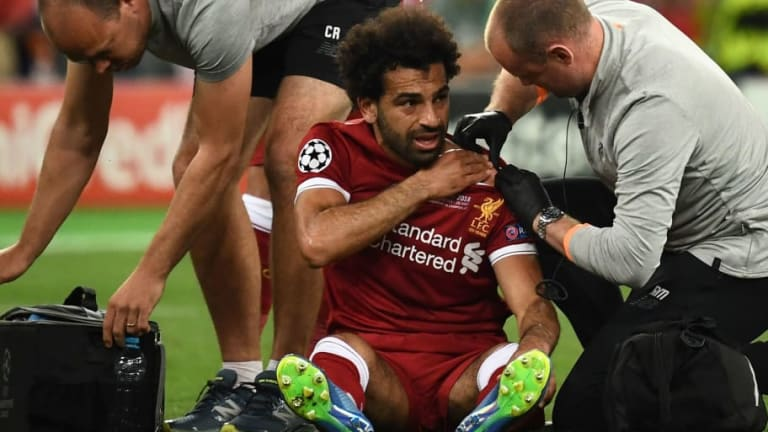 VIDEO: Liverpool's Mohamed Salah Posts Puzzling Message on Instagram Following Shoulder Injury