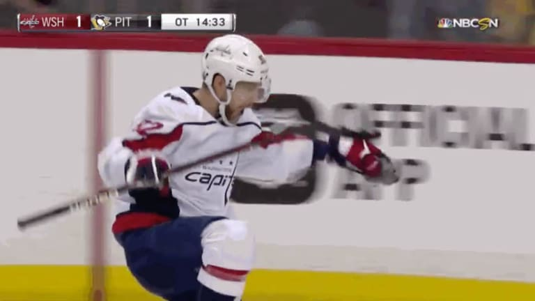Watch: Capitals Finally Beat Penguins and Advance to Conference Finals With Evgeny Kuznetsov OT Goal