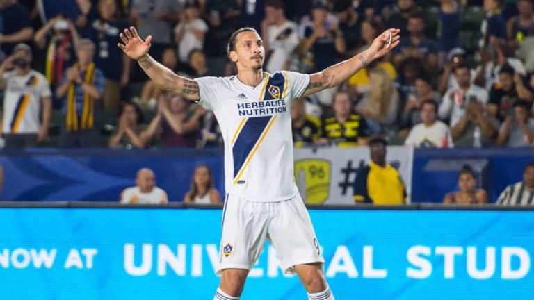 ÚNICO | La nueva 'sobrada' de Zlatan tras marcar en la última victoria de los Galaxy