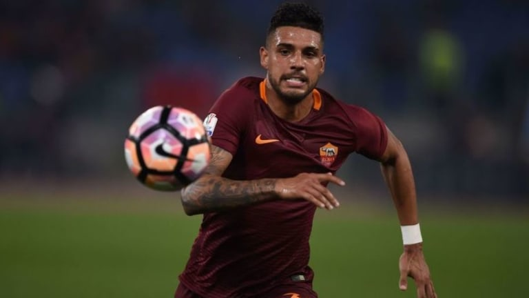PHOTO: Emerson Palmieri Appears to Have Completed Chelsea Move After Posing With Blues' Jersey
