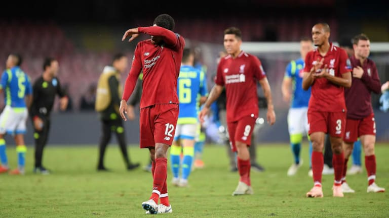 Misfiring Liverpool Set Unwanted Champions League Record in Dour Defeat to Napoli