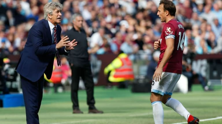 Manuel Pellegrini Shares What Mark Noble Said Following His Straight Red at Leicester