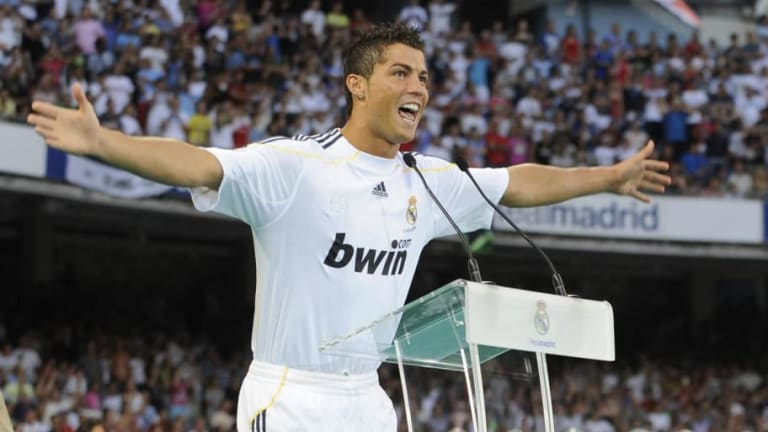 On This Day in 2009: Cristiano Ronaldo Was Officially Unveiled as a Real Madrid Player