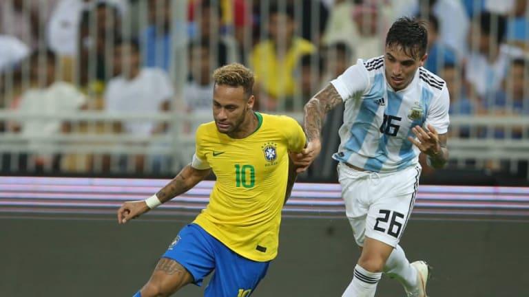 REVELADO   ¿Qué le dijo Neymar a Saravia luego del Argentina-Brasil?