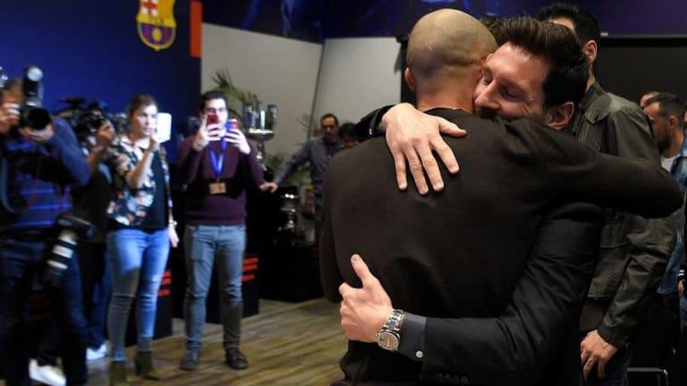 El emotivo mensaje de Messi en la despedida de Mascherano