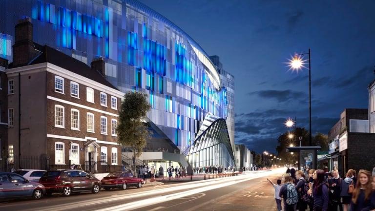 PHOTO: Tottenham's New Stadium to Light Up the Sky as Exterior Lighting Plans Revealed