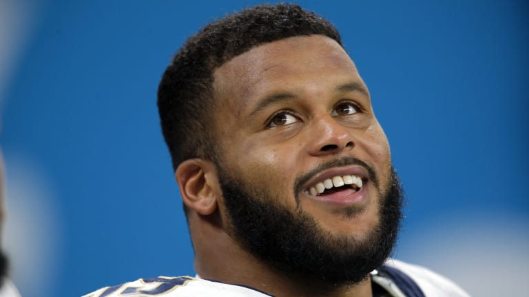 Rams DT Aaron Donald Wins Sports Illustrated's Performer of the Year Award