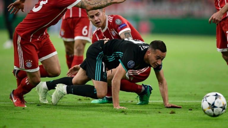La increíble racha de Lucas Vázquez como titular en Champions League