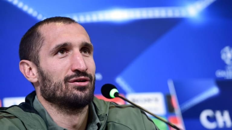 Giorgio Chiellini Reminisces About Crunching Tackle on Harry Kane in Spurs Striker's England Debut