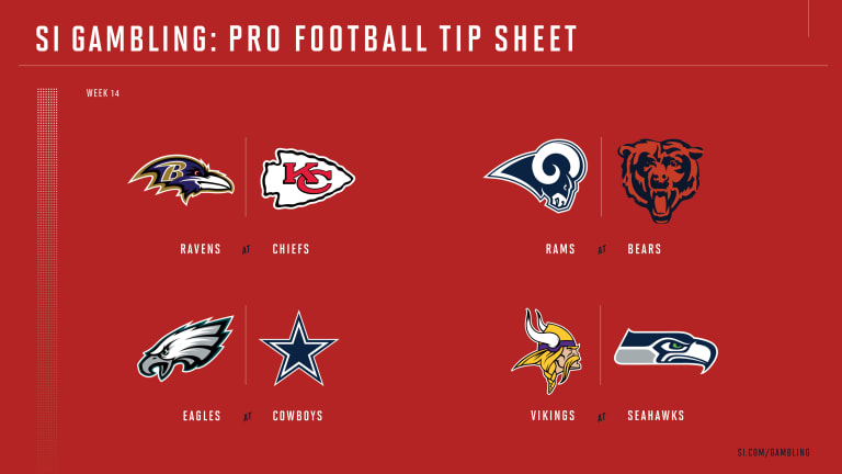 Weekly Tip Sheet: The Complete Printable Betting Guide to NFL Week 14 Games