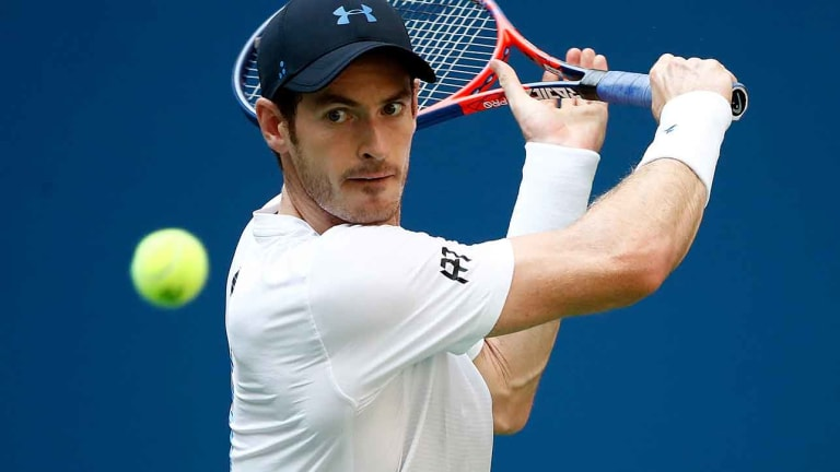 Andy Murray Reaches Second Round of Shenzhen Open as Zhang retires