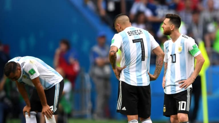 Twitter Erupts as France Dump Lionel Messi & Argentina Out of 2018 World Cup