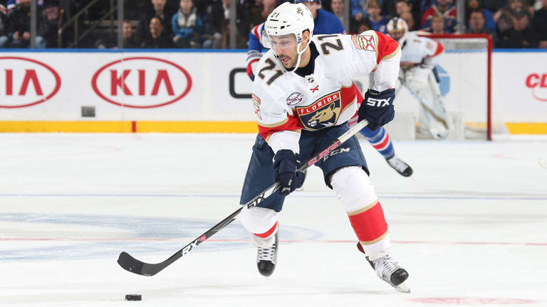 Panthers' Vincent Trocheck Taken Off on Stretcher With Leg Injury
