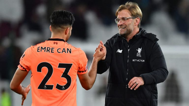 Jurgen Klopp Hints That Emre Can Could Yet Sign New Liverpool Deal Before the End of the Season