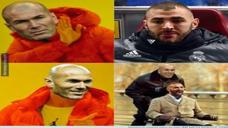 Los mejores 'memes' de la sufrida victoria del Madrid, la suplencia de Benzema y más